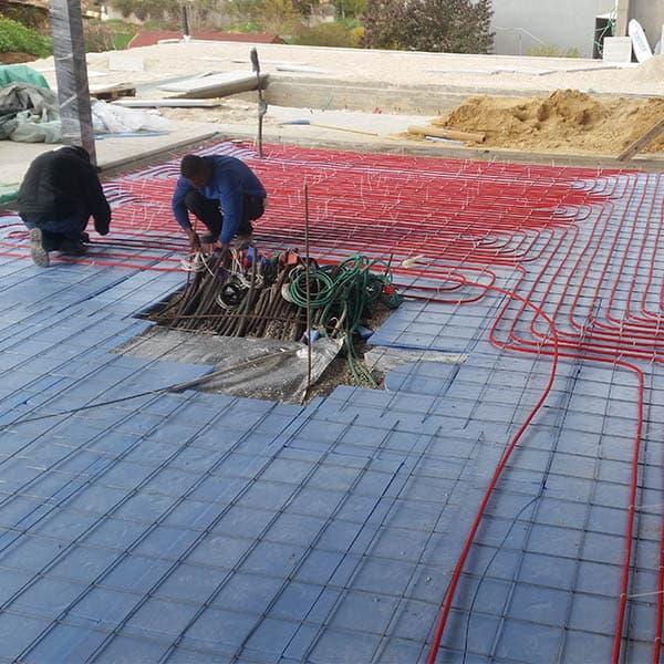 חימום תת רצפתי חשמלי ספקטרום אנרגיה