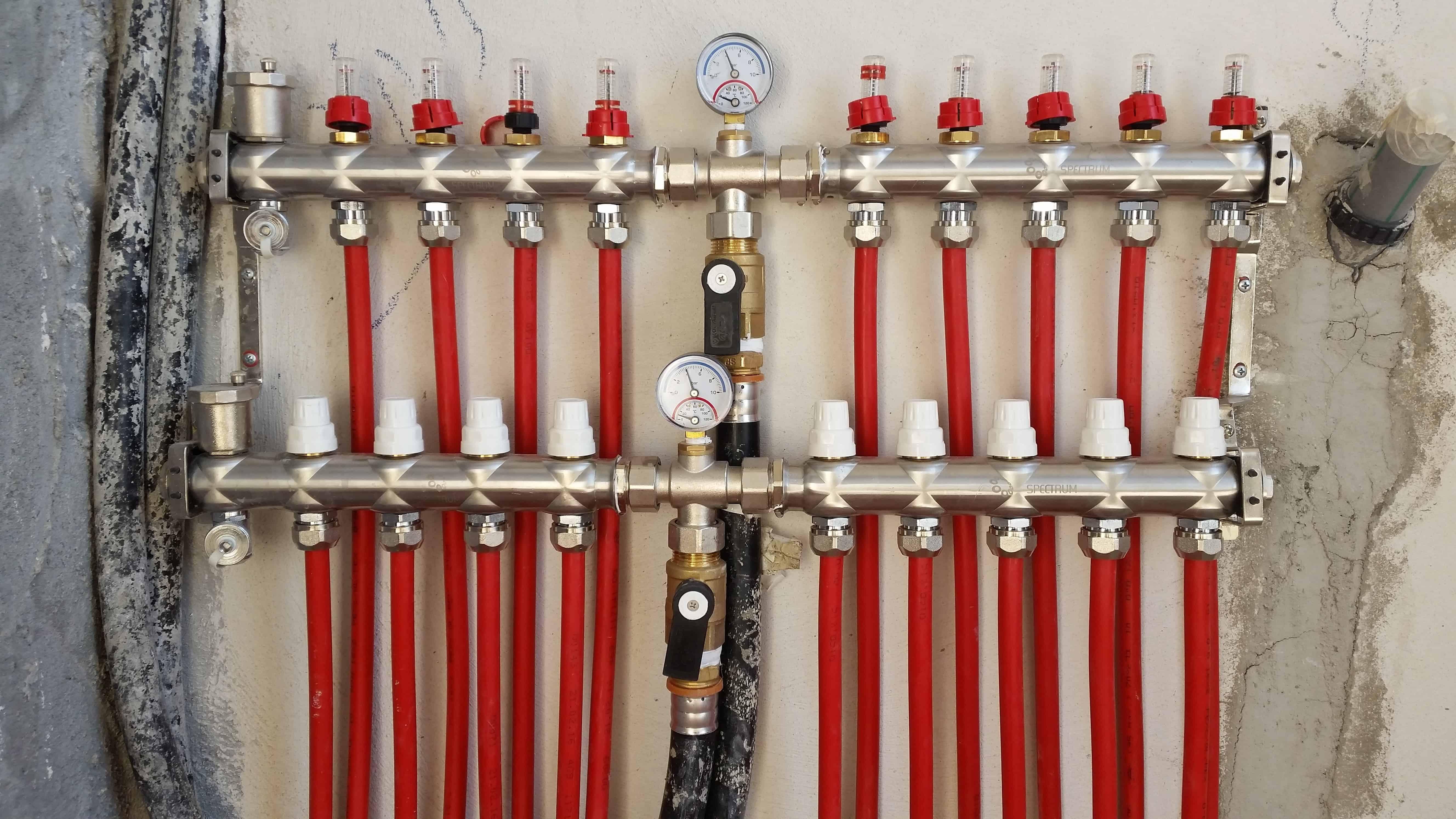 חימום תת רצפתי מים ספקטרום אנרגיה פתרונות חימום