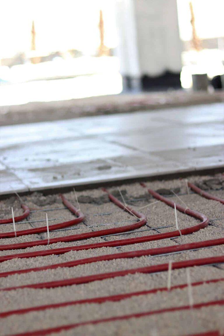 חימום תת רצפתי ספקטרום אנרגיה