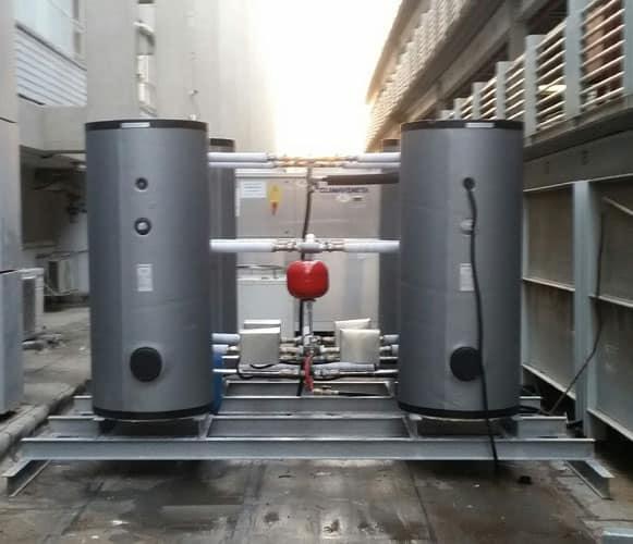 מנוע משאבות חום