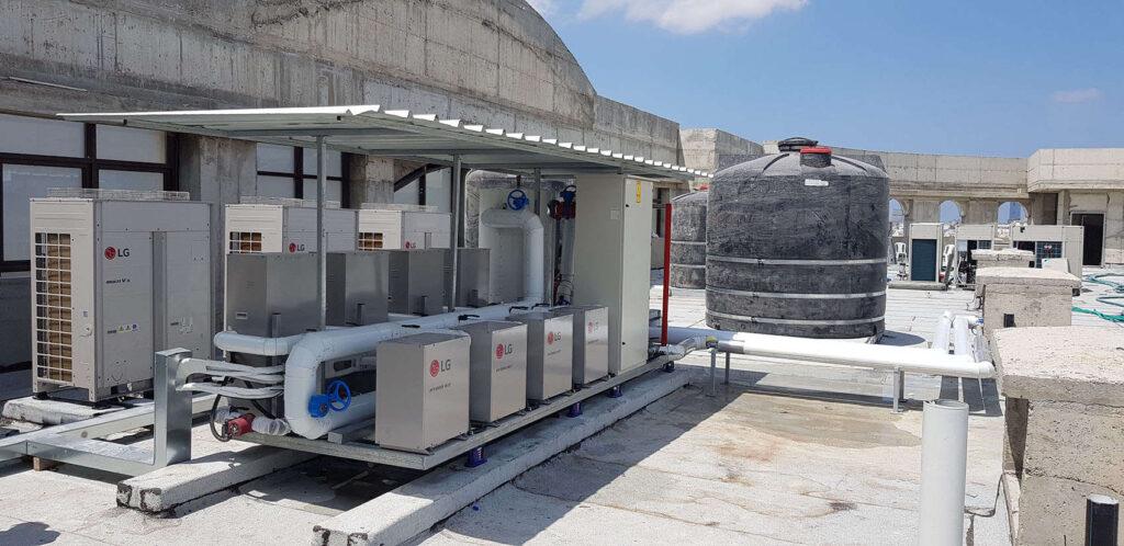 משאבת חימום תת רצפתי ספקטרום אנרגיה
